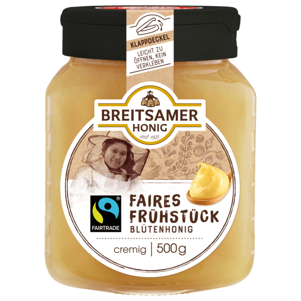 Breitsamer Honig Imkergold Fairtrade 500g