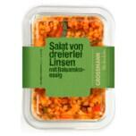 Grossmann Salat von dreierlei Linsen mit Balsamico-Essig 200g