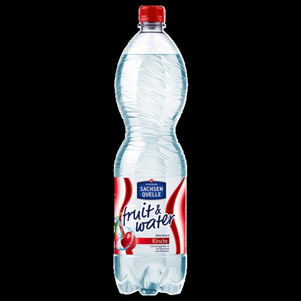 Ileburger Sachsenquelle Fruit & Water Kirsche 1,5l