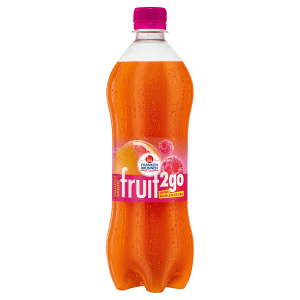 Franken Brunnen Fruit2go Grapefruit-Himbeer 0,75l
