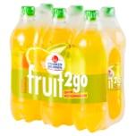 Franken Brunnen Fruit2go Citrus-Pomelo 6x0,75l
