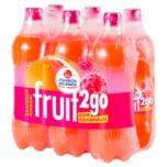 Franken Brunnen Fruit2go Grapefruit-Himbeer 6x0,75l
