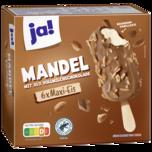 ja! Mandel-Eis am Stiel 6x120ml