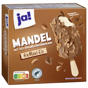 ja! Mandel-Eis am Stiel 6x120ml