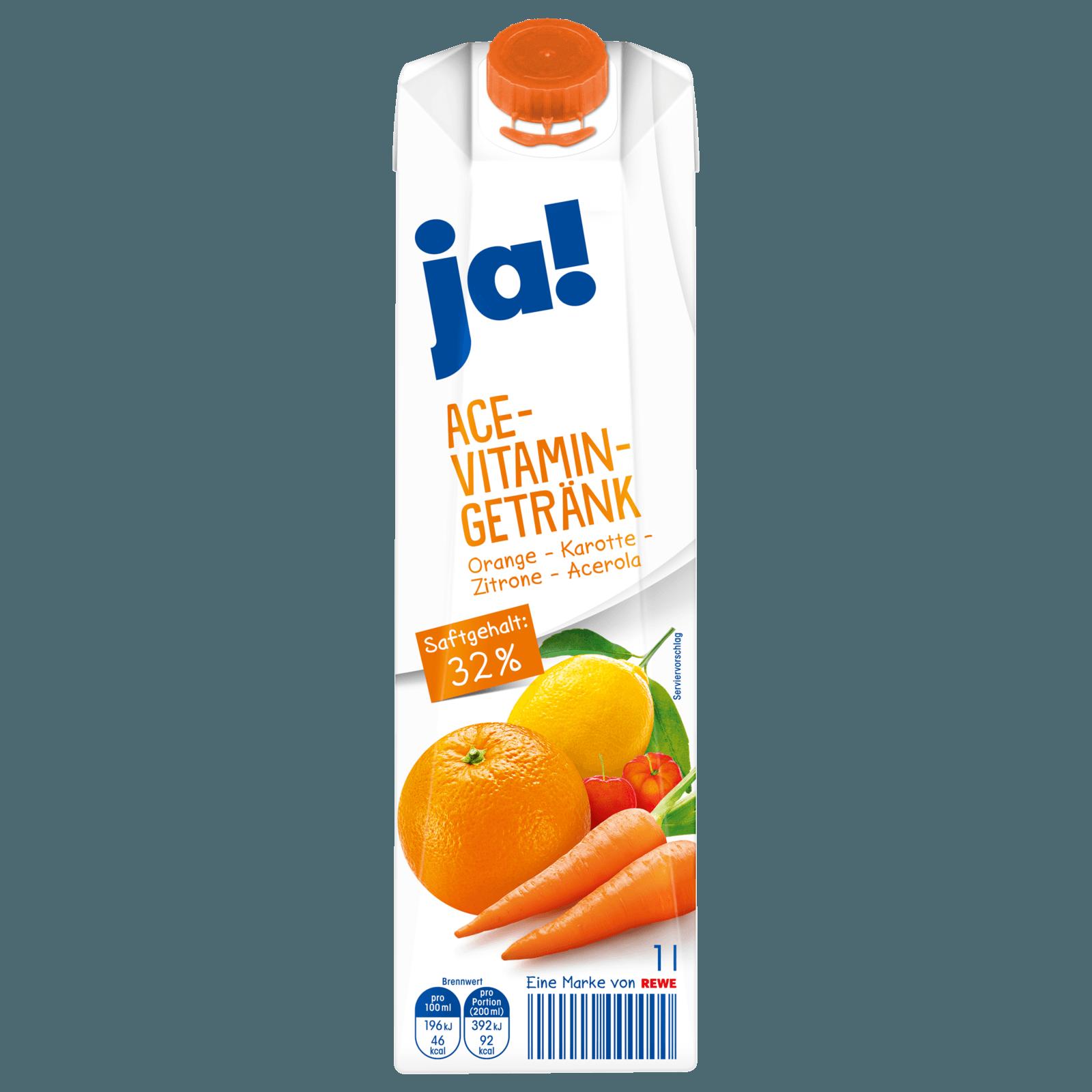 ja! ACE-Vitamin-Getränk 1l bei REWE online bestellen!