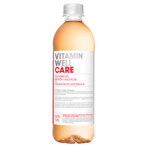 Vitamin Well Care Grapefruit 0,5l