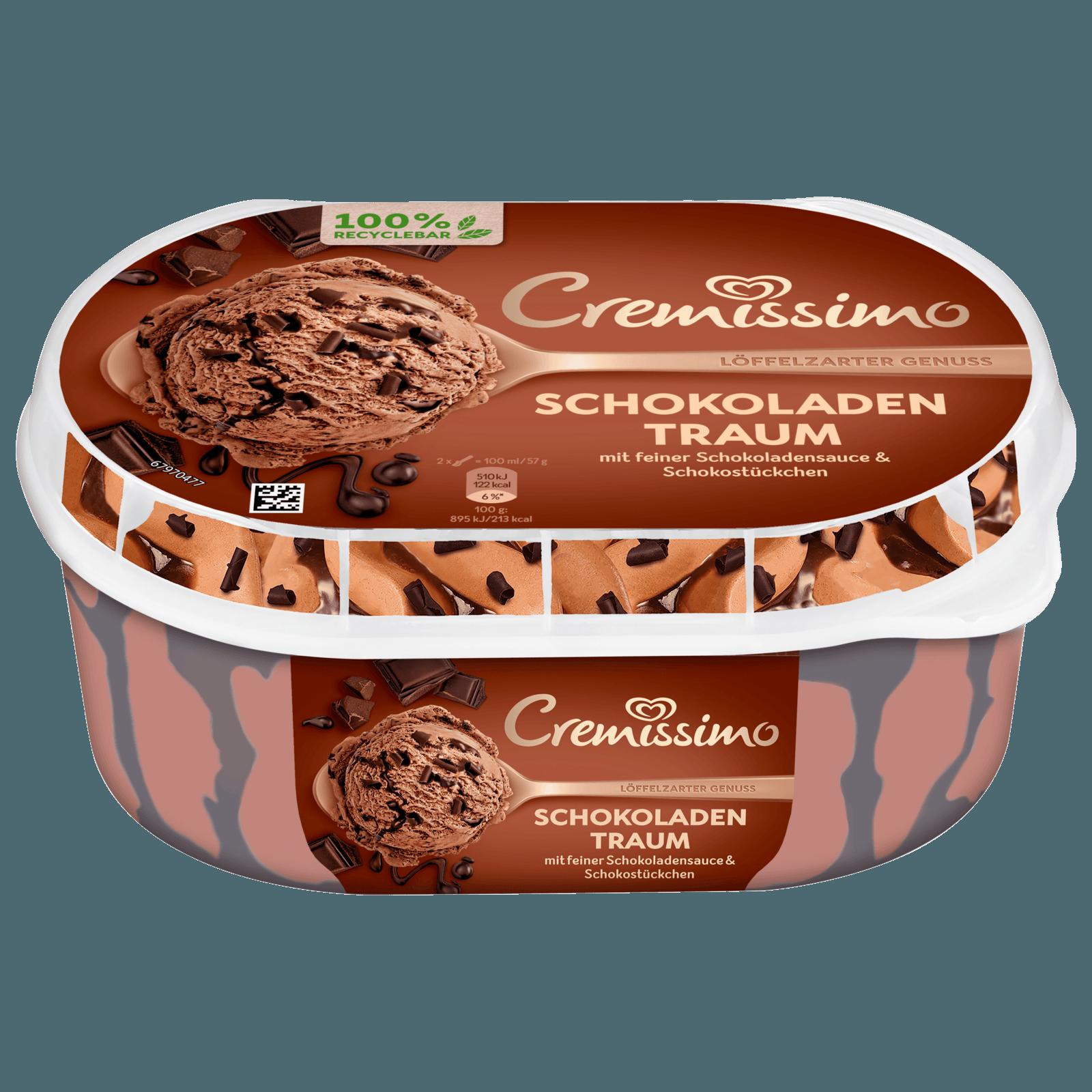Cremissimo Schokoladen Eis 900ml