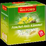 Milford Fenchel-Anis-Kümmel 56g, 28 Beutel