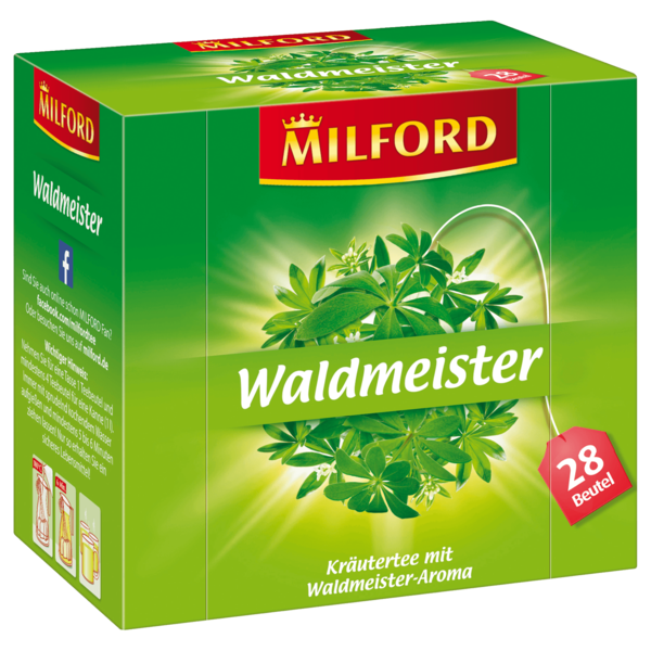 milford waldmeister 56g 28 beutel bei rewe online bestellen. Black Bedroom Furniture Sets. Home Design Ideas