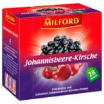 Milford Johannisbeere-Kirsche Kräutertee 56g, 28 Beutel