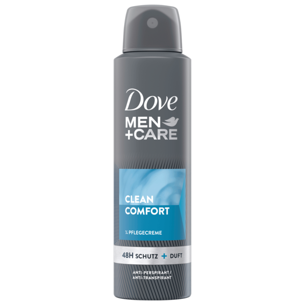Dove Men+Care Deospray Clean Comfort Anti-Transpirant 150ml