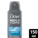 Dove Men+Care Deospray Clean Comfort Anti-Transpirant 150ml