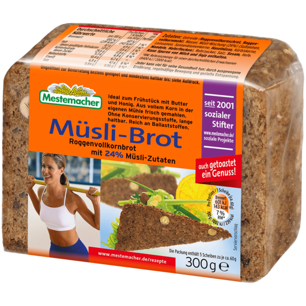 Mestemacher Müsli-Brot 300g