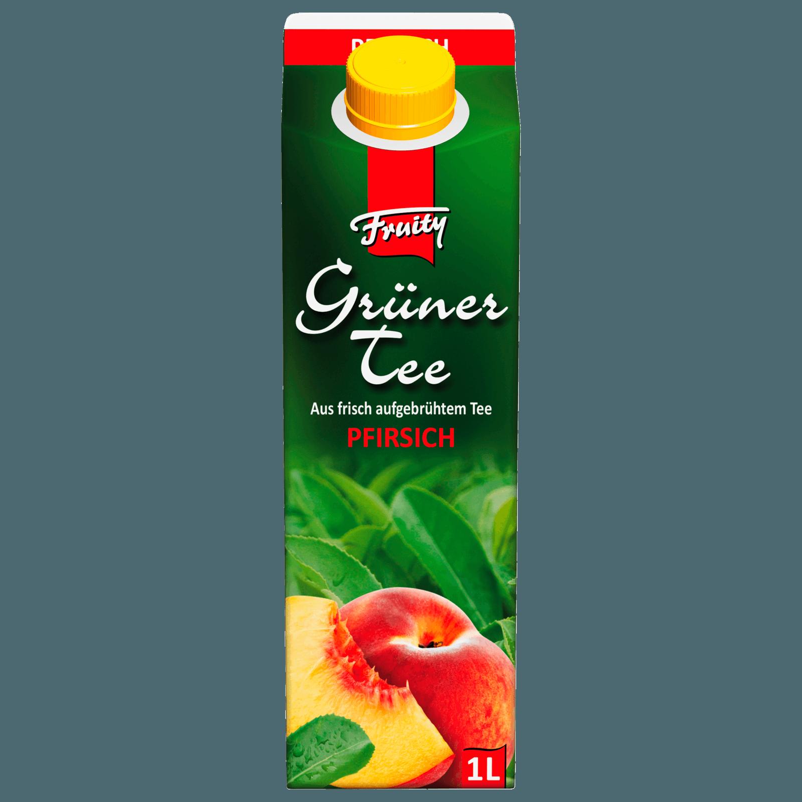 Fruity Grüner Tee Pfirsich 1l bei REWE online bestellen!