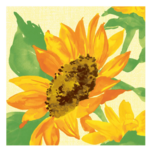 Duni Servietten Sonnenblume 20 Stk.