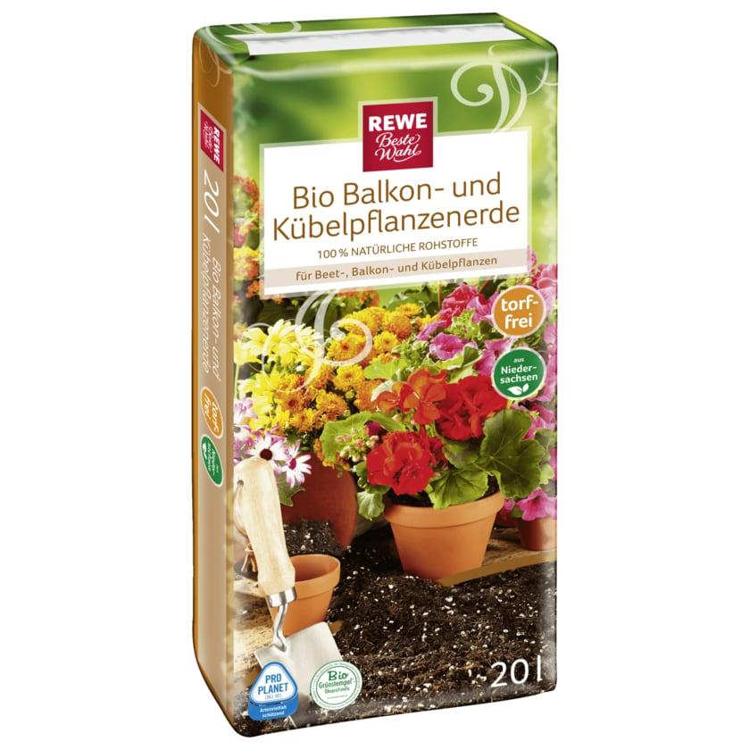 REWE Beste Wahl Bio Balkon- und Kübelpflanzenerde 20l