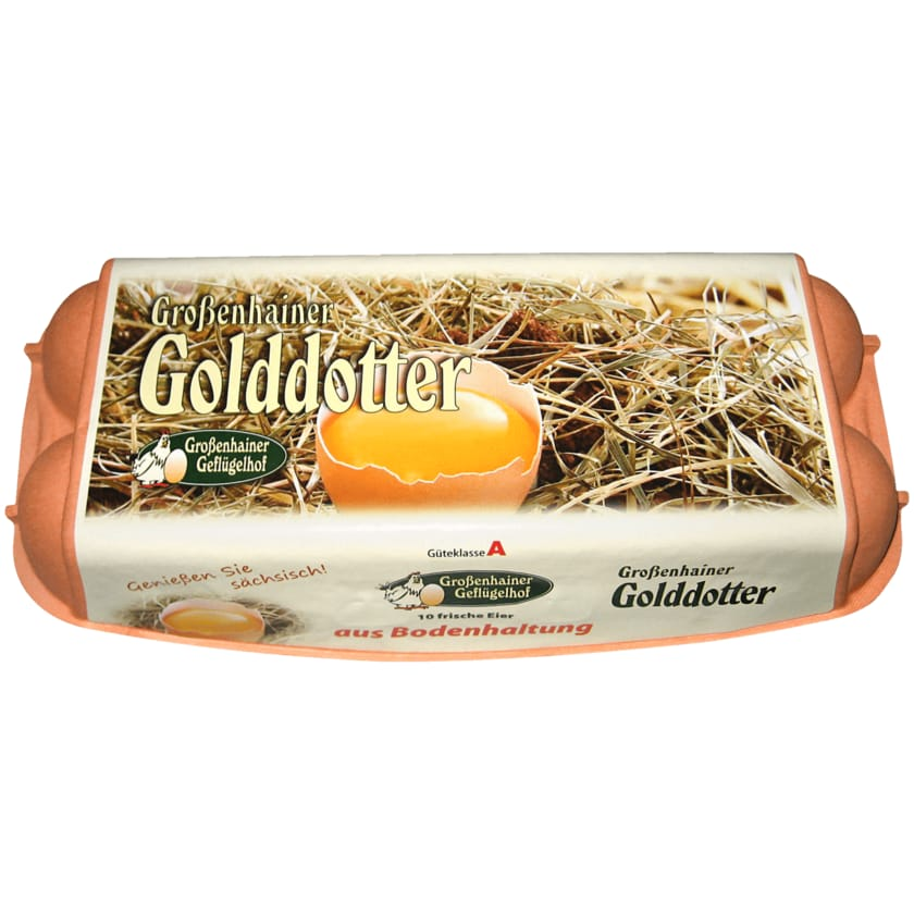 Großenhainer Eier Bodenhaltung 10 Stück