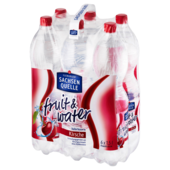 Ileburger Fruit & Water Kirsche 6x1,5l