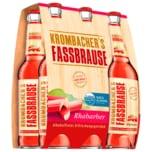 Krombacher's Fassbrause Rhabarber 6x0,33l
