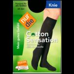 Nur die Knie Cotton Sensation amber one size