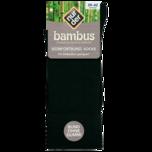 Nur der Herren Bambus Komfort-Socke schwarz 43-46