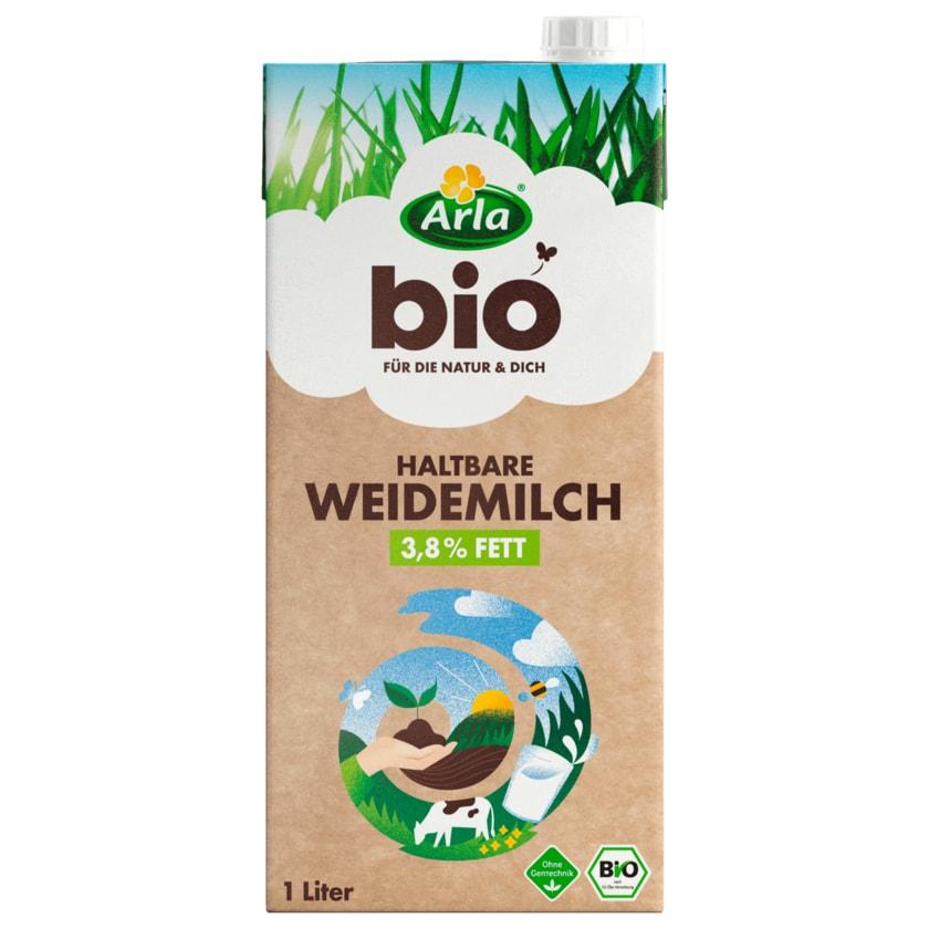 Arla Bio Weidemilch Haltbar 3,8%, 1l