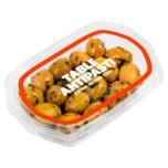 Perla Grüne Oliven ohne Stein in Chilimarinade 90g