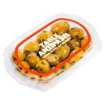 Perla grüne Oliven in Mandelmarinade 90g