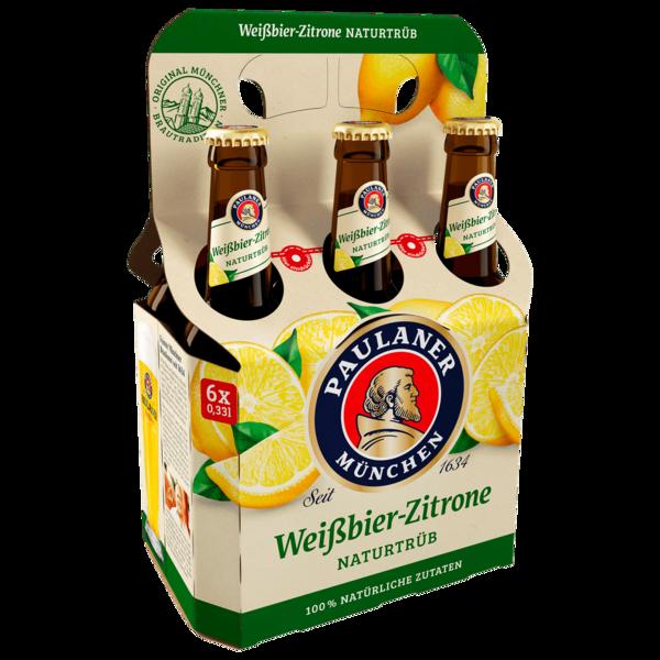 Paulaner Weißbier Zitrone naturtrüb 6x0,33l