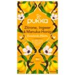 Pukka zitrone, ingwer & manuka-honig beruhigender bio-kräutertee 20x2g
