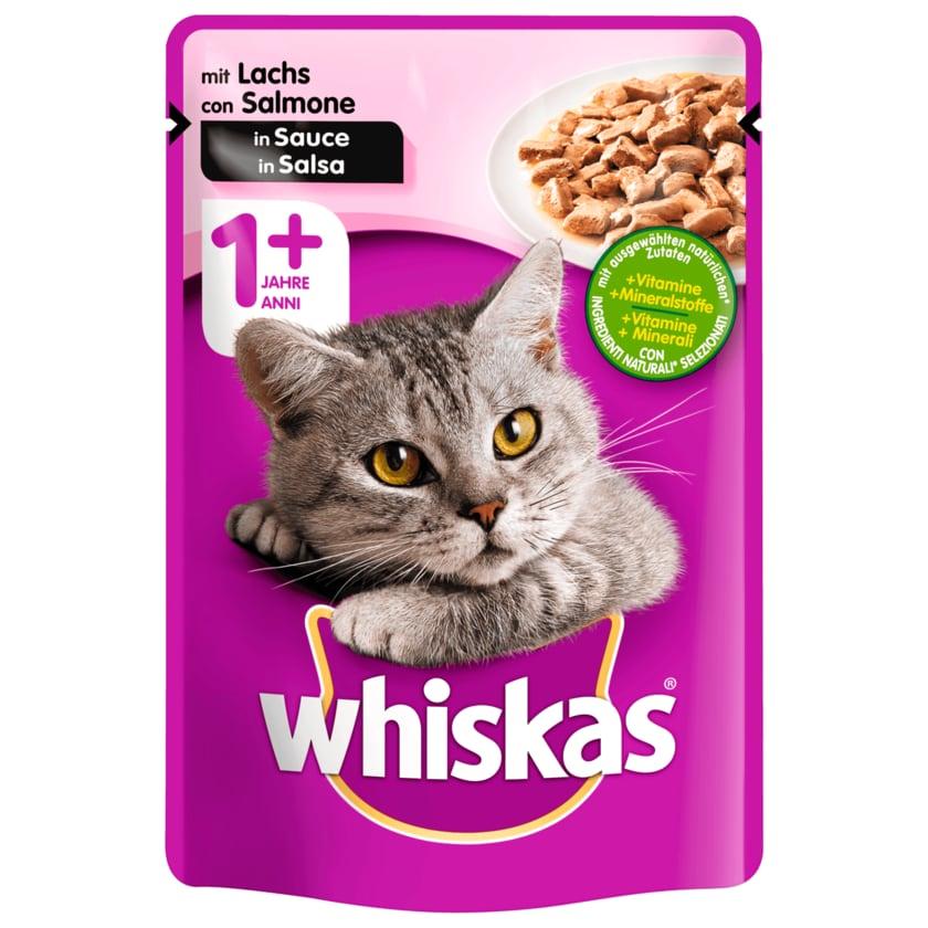 Whiskas 1+ mit Lachs in Sauce 100g