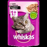 Whiskas Katzenfutter 1+ mit Lachs in Sauce 100g