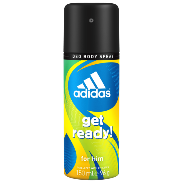 Adidas Men Deospray Get Ready! 150ml