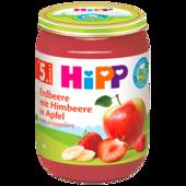 Hipp Erdbeere mit Himbeere in Apfel 190g