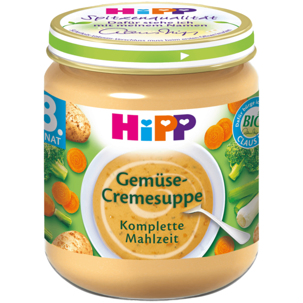 Hipp Bio Gemüse-Cremesuppe 200g