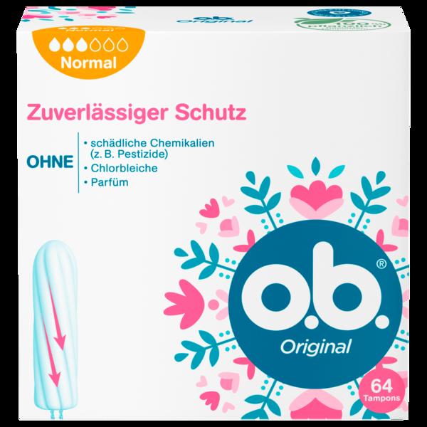 o.b. Tampons Original Normal 64 Stück