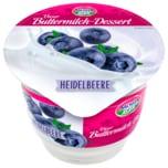 Sachsenmilch Unser Buttermilch-Dessert Gartenfrüchte Heidelbeere 200g