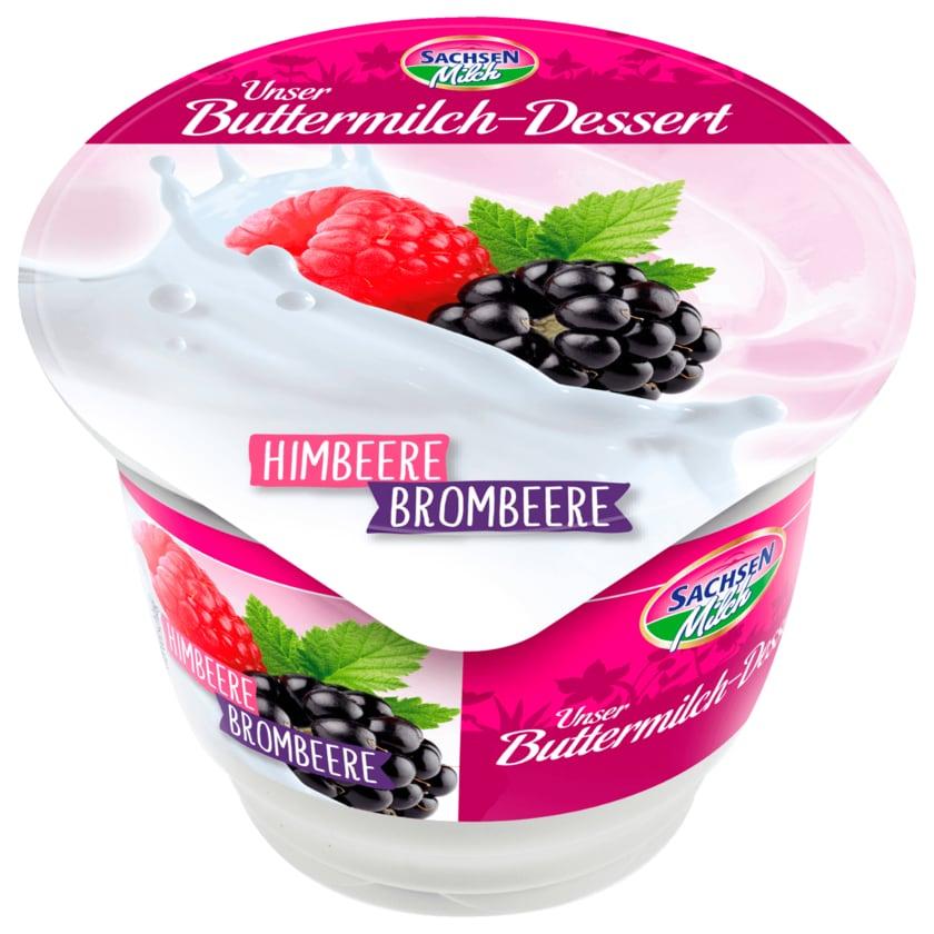 Sachsenmilch Buttermilch-Dessert Himbeere Brombeere 200g