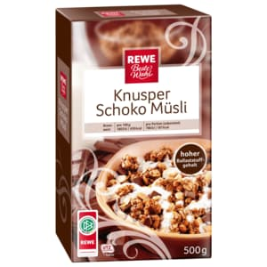 REWE Beste Wahl Knusper-Schoko-Müsli 500g