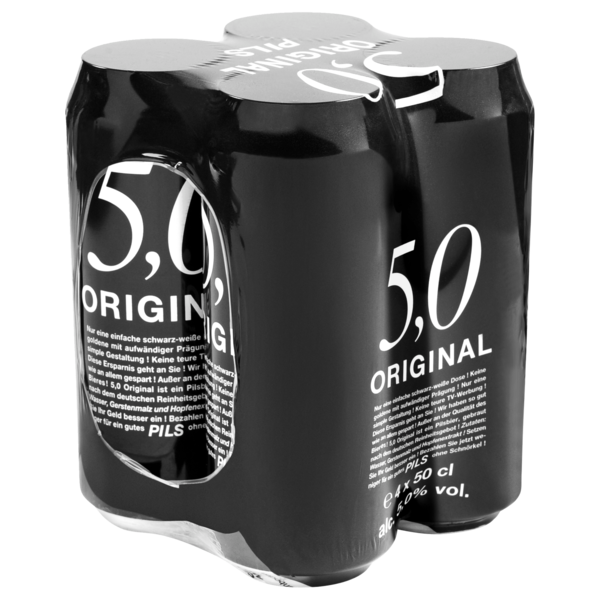 5,0 Original Pils 4x0,5l