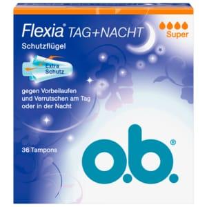 o.b. Flexia Tag+Nacht Super 36 Stück