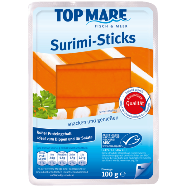Top Mare Surimi-Sticks 100g