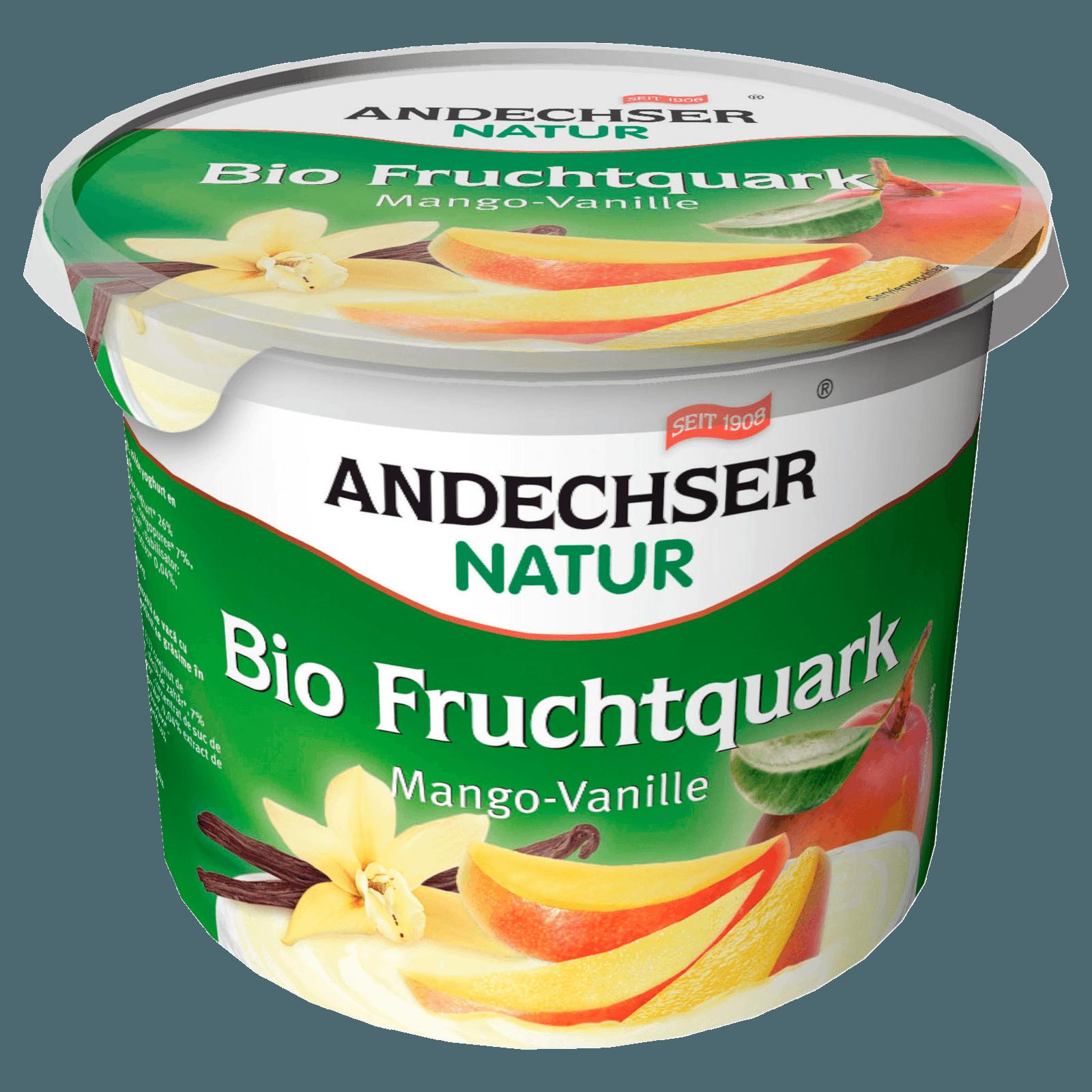 Andechser Natur Bio-Fruchtquark Mango-Vanille 450g