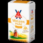 Gloria Weizenmehl Vollkorn 1kg