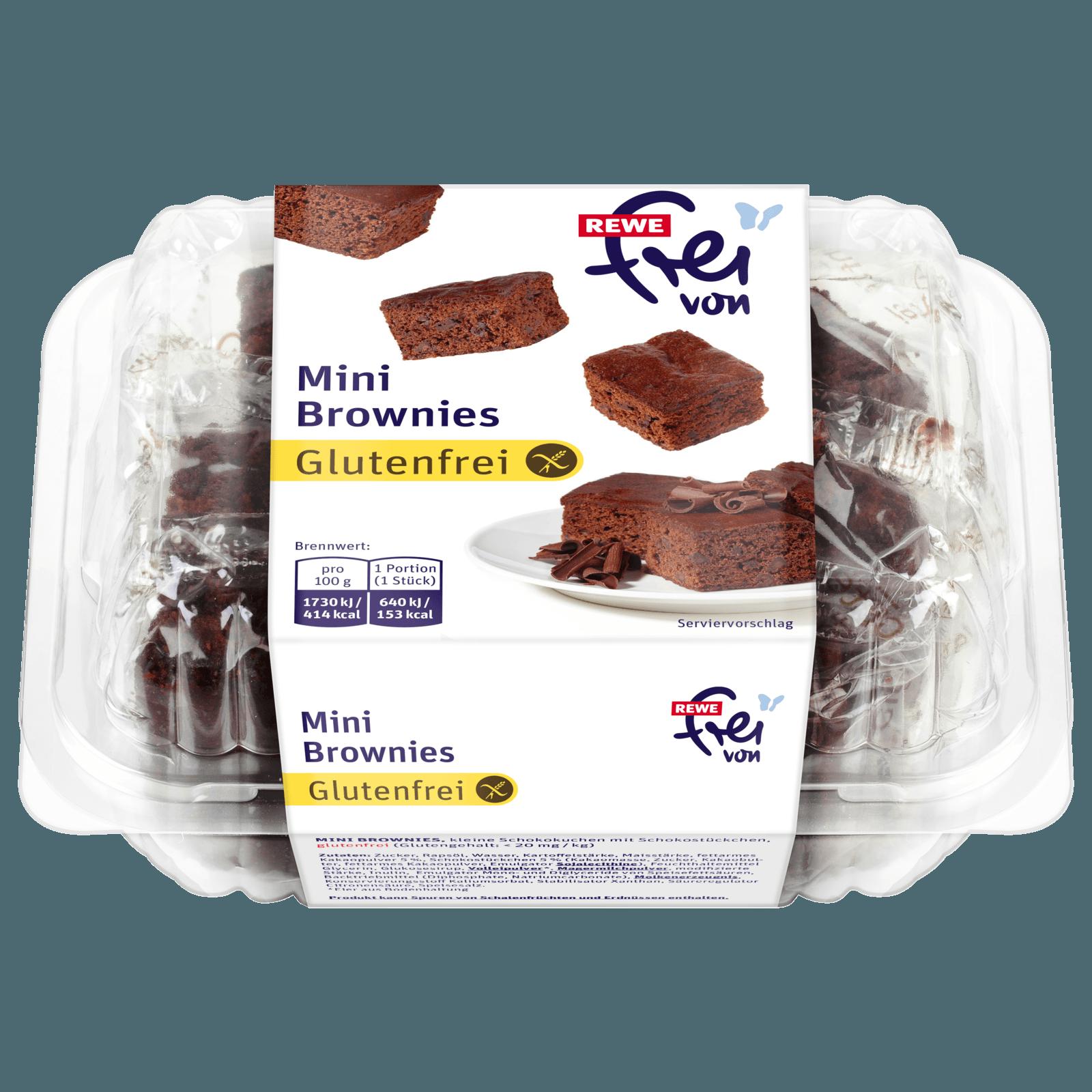 Rewe Frei Von Mini Brownies 222g Bei Rewe Online Bestellen