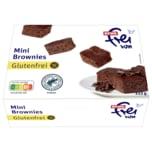 REWE frei von Mini-Brownies glutenfrei 222g