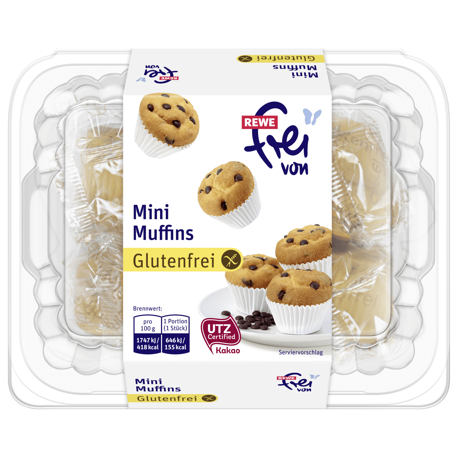 Rewe Frei Von Mini Muffins 222g Bei Rewe Online Bestellen