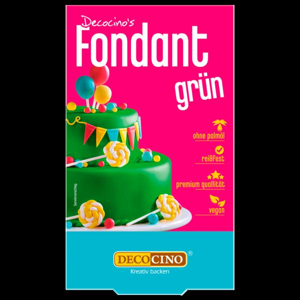 Dekoback Rollfondant Grün 250g