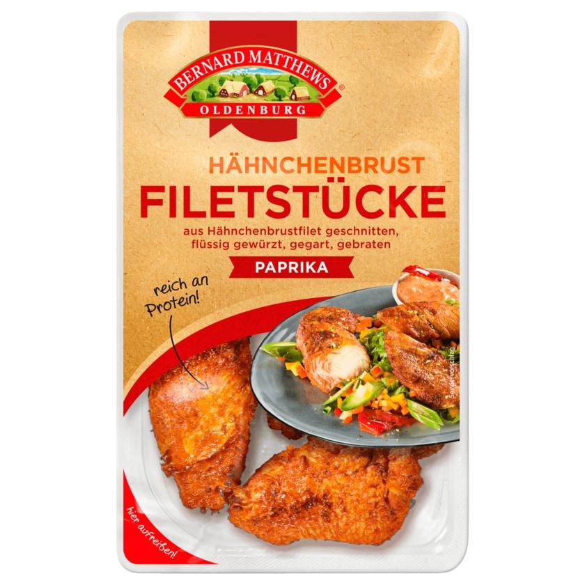 Bernard Matthews Oldenburg Hähnchenbrust-Filetstücke Paprika 150g