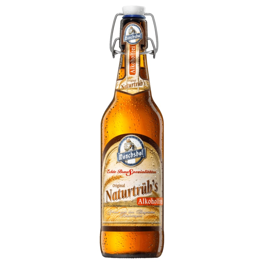 Mönchshof Original Naturtrüb's alkoholfrei 0,5l